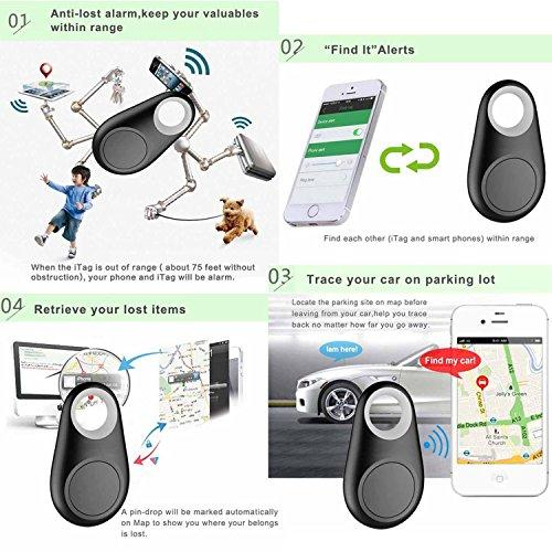 Wireless Bluetooth Anti-Lost Alarm Mini Tracking Finder Device for Car Pets  Kids Motorcycle Anti-Lost GPS Tracker Key