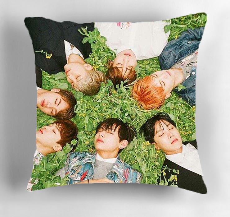 BTS Group K Pop Display Pillow 8\