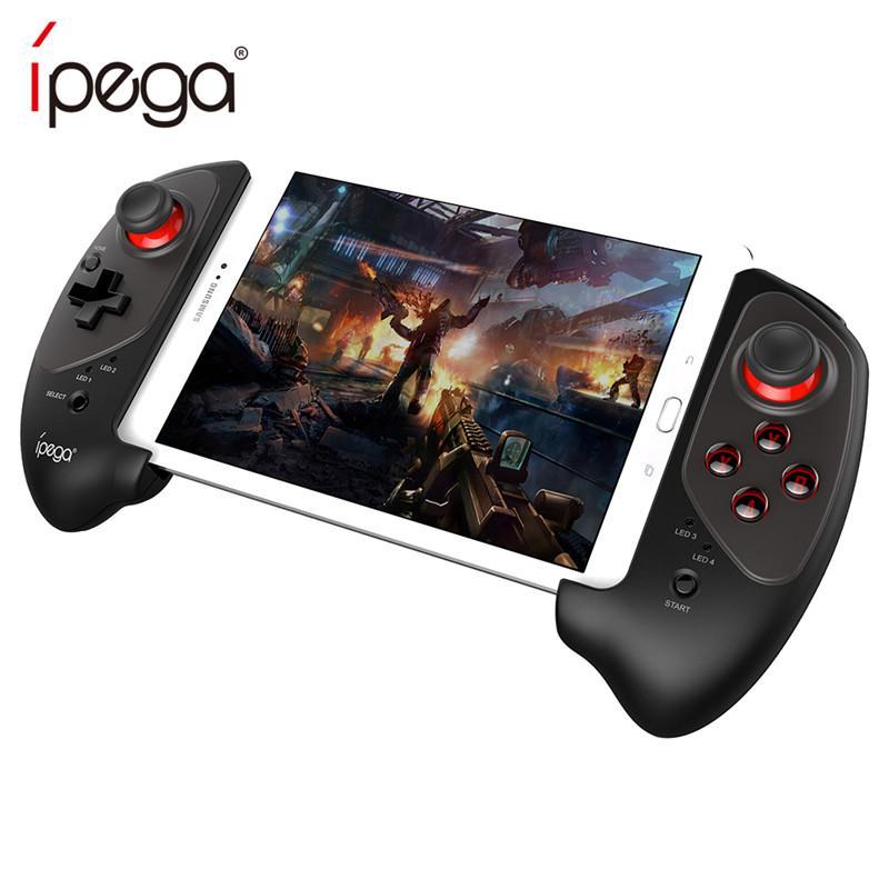 Hình ảnh IPEGA PG 9083 Bluetooth 3.0 Wireless Gamepad for Android / iOS Retractable Gamepad Practical Retractable Handle Pad Joystick - intl