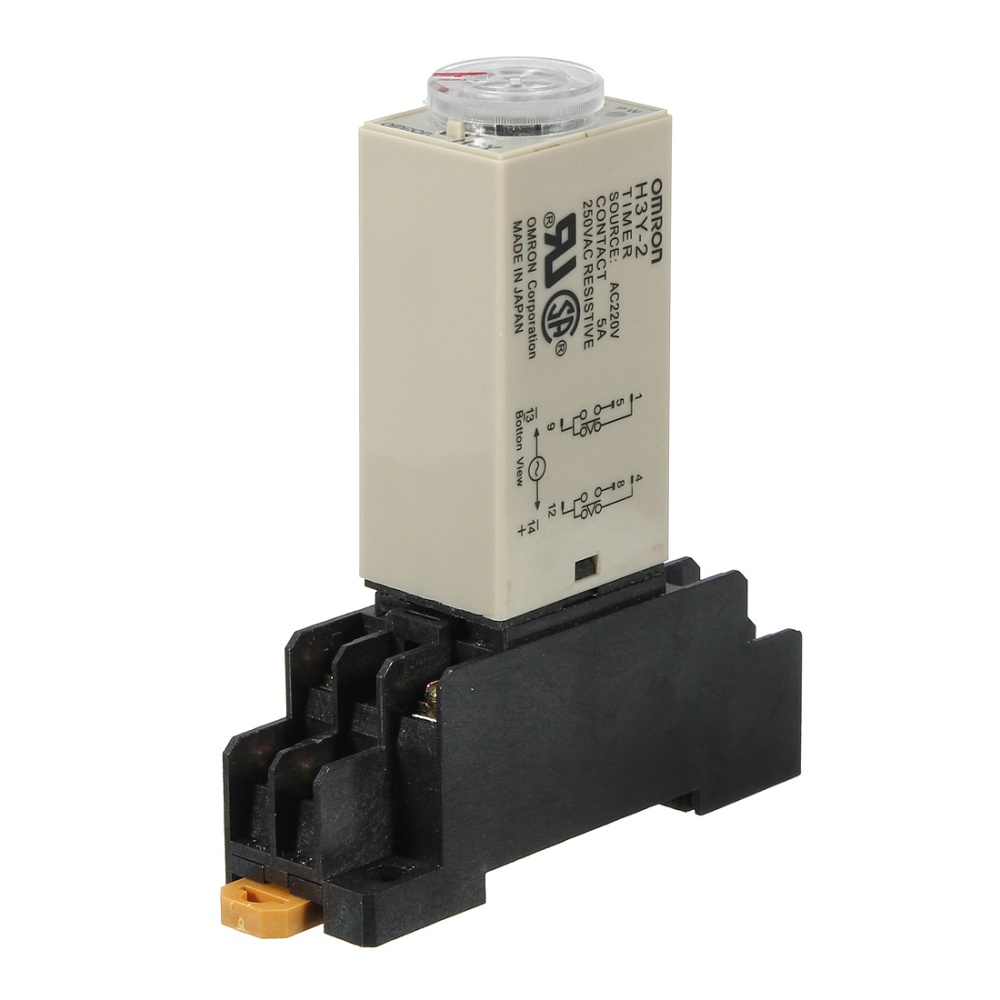 Ac 220v H3y 2 Power On Time Delay Relay Solid State Timer 1030min Switch Module Automotive Turn Off Circuit Package Include 1 X