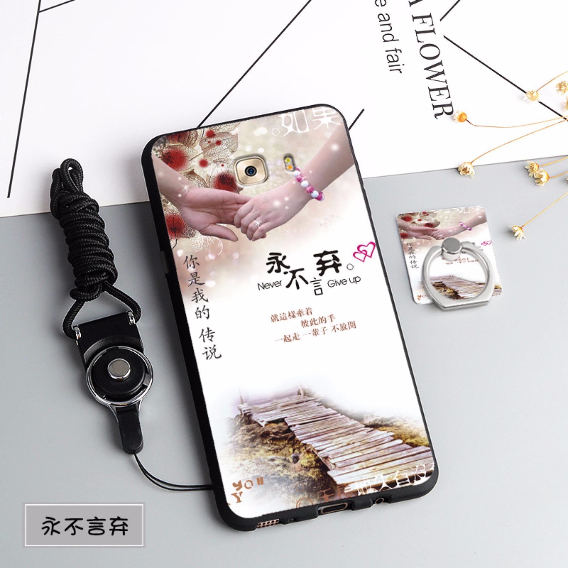 Silica Gel Soft Phone Case for Samsung Galaxy C9 Pro (Multicolor) - intl