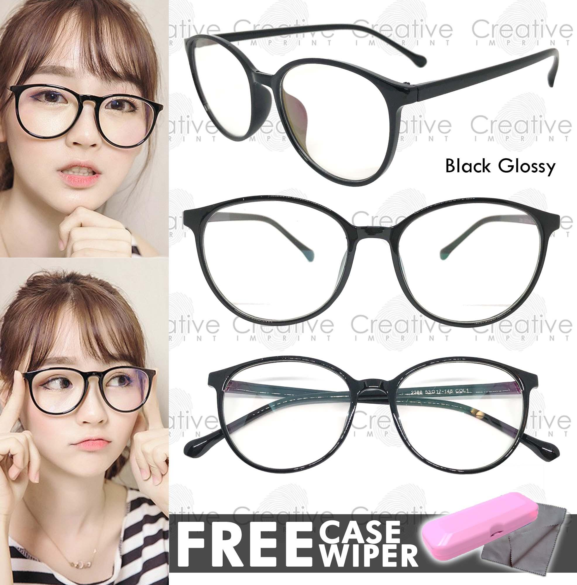 57f846bcf38 Creative Imprint Eyeglasses Anti-Radiation Lens ( 05 Black Glossy)  Anti-Fatigue