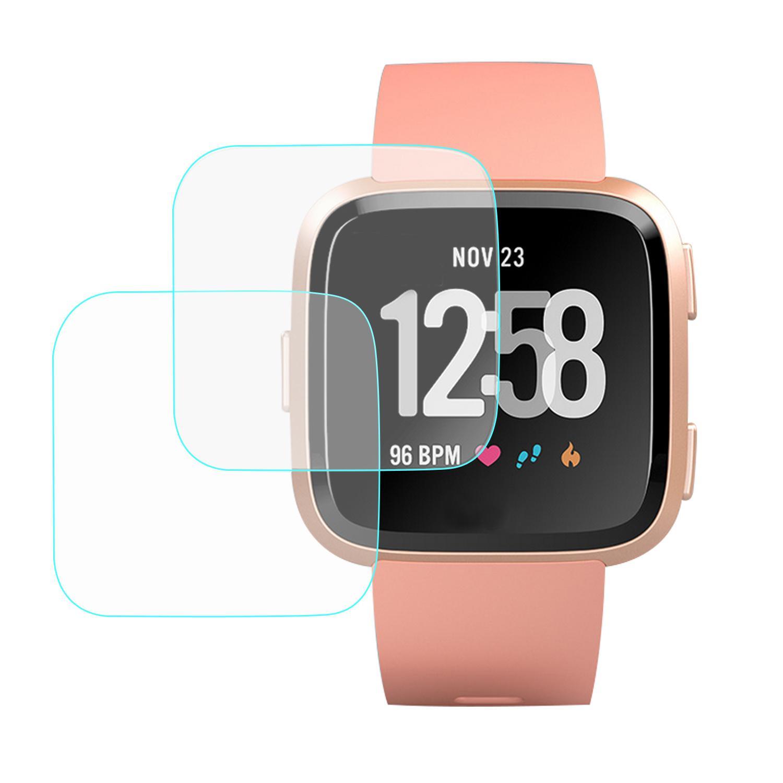 Smart Watch Screen Protector For Sale Smartwatch Guard Xiaomi Mi Band 2 Original Black Free Pcs Full Cover Temper Glass Film High Definition Fitbit Versa