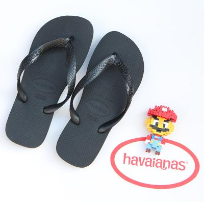 9922fda8e86a7d ... Havana Havaianas Thin Drawstring Slim Broadband TOP Couples Collocation Flip-flops  Female Men s Anti ...