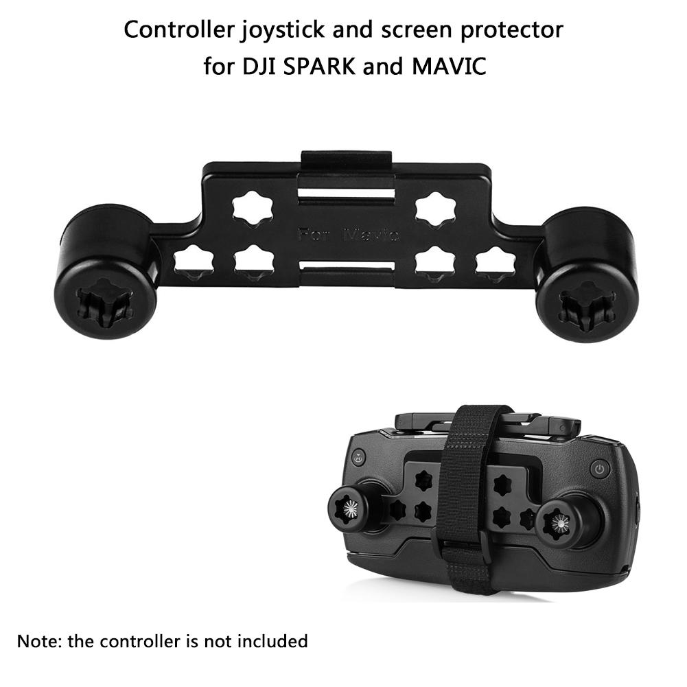 Sunnylife Upgraded Transmitter Clip Remote Controller Joystick Screen Guard Protector Thumb Rocker Stick Holder Bracket with
