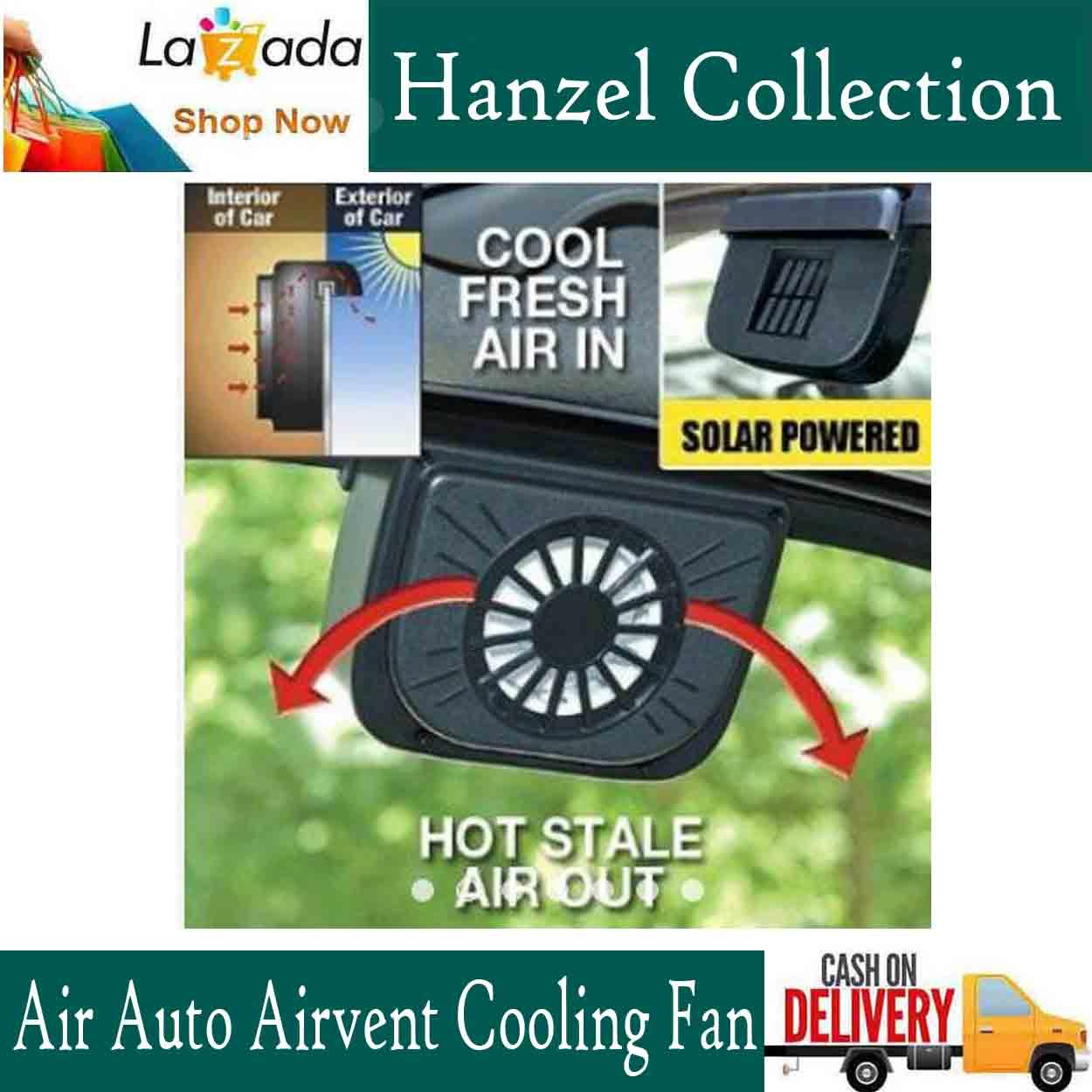 Car Fan For Sale Auto Cooling Online Brands Prices Reviews 1992 Mazda 323 System Wiring Diagram New Window Air Vent Solar Power Energy Cool Cooler Universal