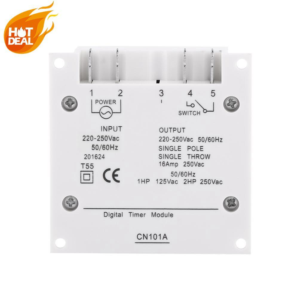 Qianmei Lcd Digital Programmable Control Power Timer Switch Time Relay 2