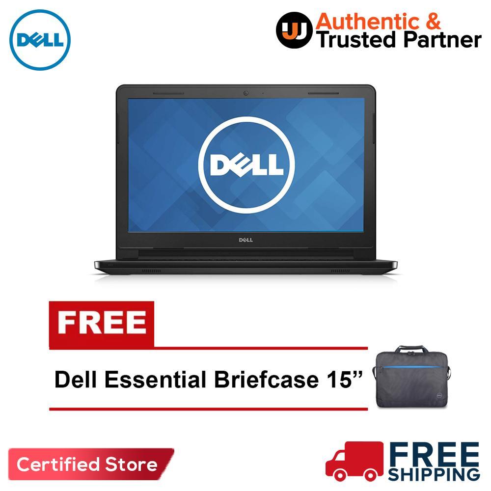 The Cheapest Price Dell Inspiron 3462 14 Intel Celeron Dual Core N3350 3467 Hd Black I3 6006u 4gb 500gb Amd Radeon R5 M430 Windows 10 With Free Essential Briefcase