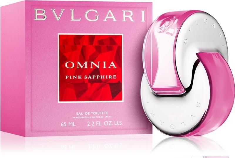 BVLGARI OMNIA PINK SAPPHIRE eau de toilette spray 65ml ( AUTHENTIC TESTER ) 9cff1d6dc73