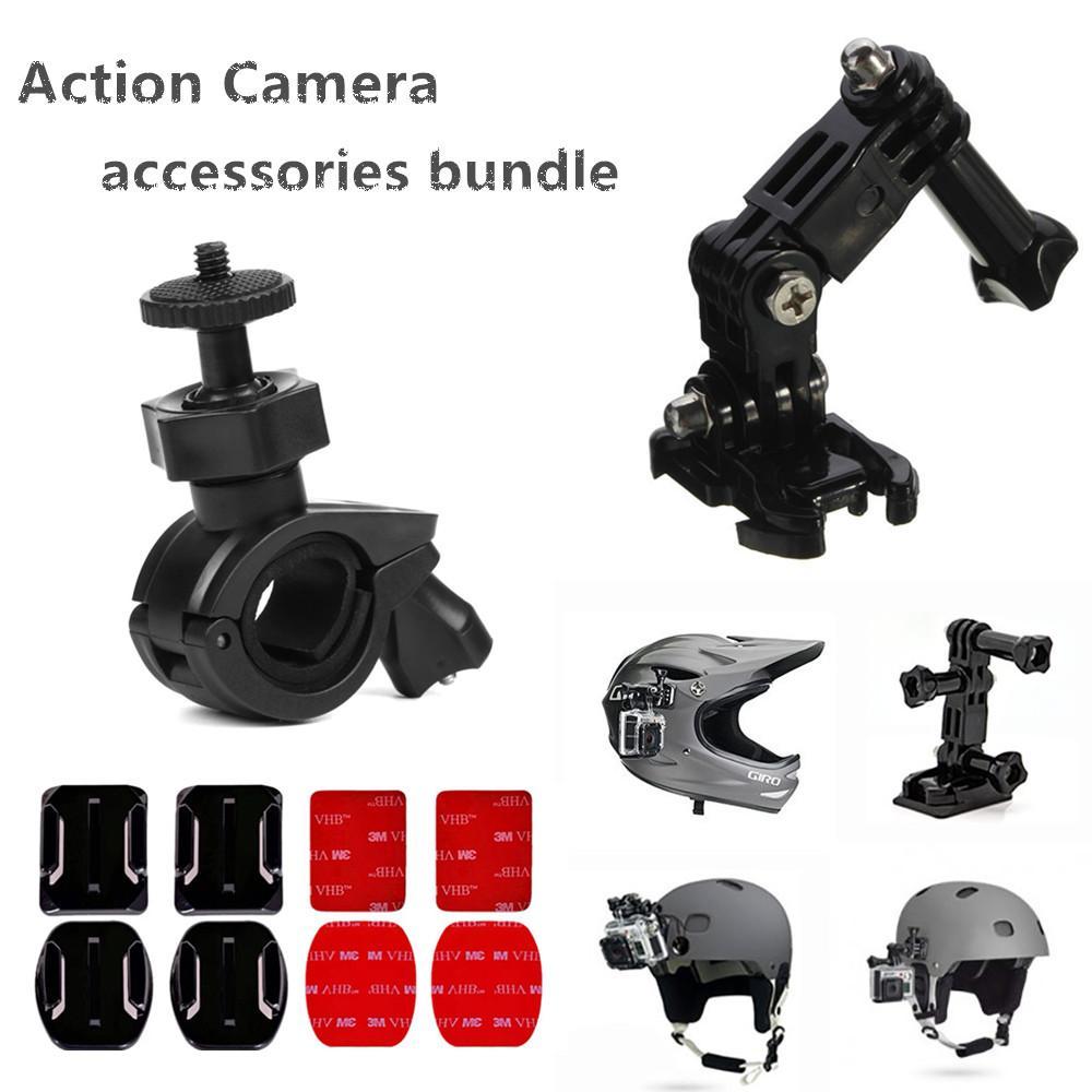 Helm Sepeda Aksesori Perlengkapan untuk RX0 FDR X3000 X1000 AS300 AS200 AS100 AS50 AS30 AS20 AS15 AS10 AZ1 Mini POV aksi Kamera-Internasional
