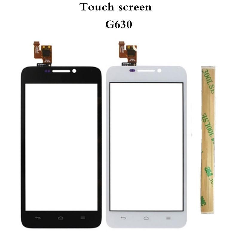 Untuk Huawei G630 Sentuh Layar Digitalisasi + Alat