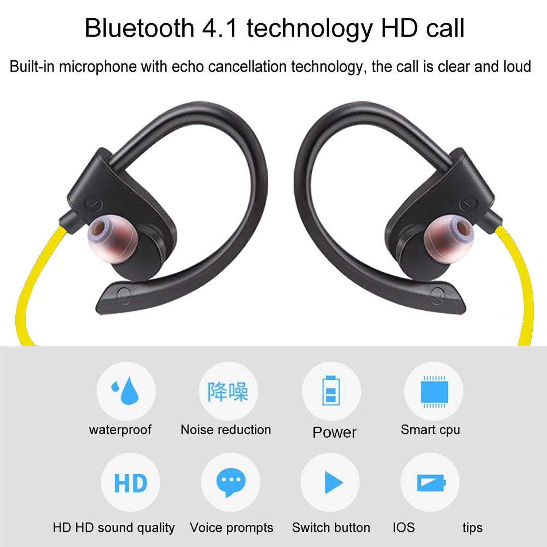 Esogoal Wireless Bluetooth V4 1 Headphone In Ear Earphone Stereo Qcy Q26 V41 Headset Putih Iflashdeal Earbuds Headphones Sweatproof Lightweight Sports Neckband