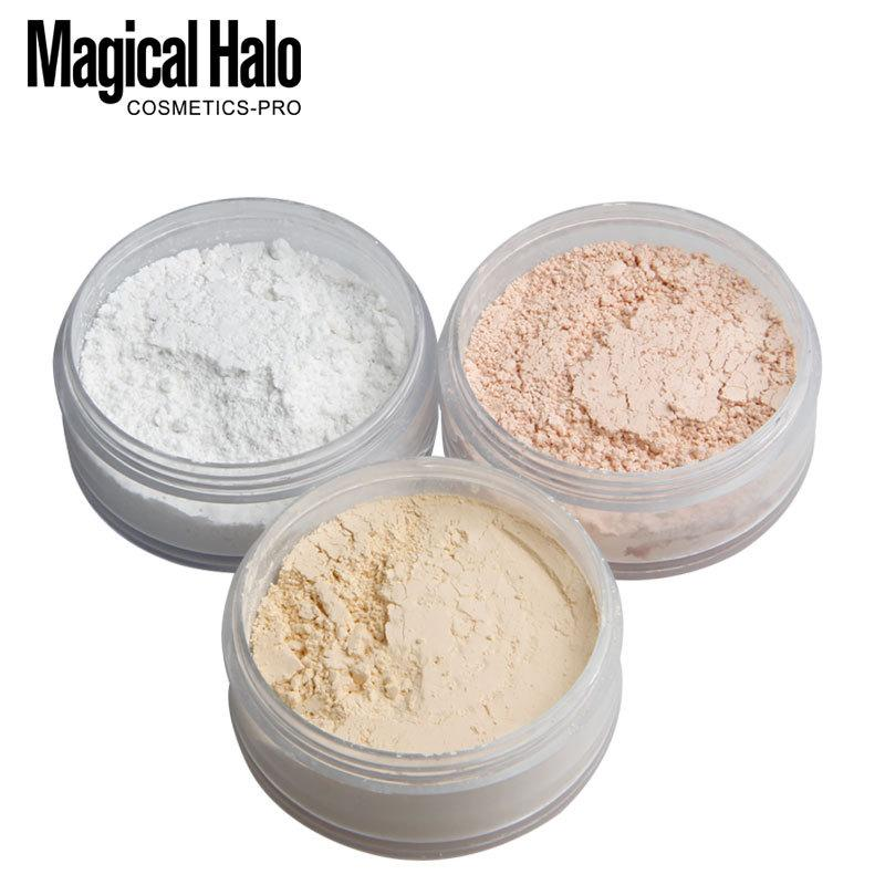 Magical Halo Smooth Loose Powder Makeup Transparent Finishing Powder Waterproof Cosmetic For Face Setting With Puff Philippines