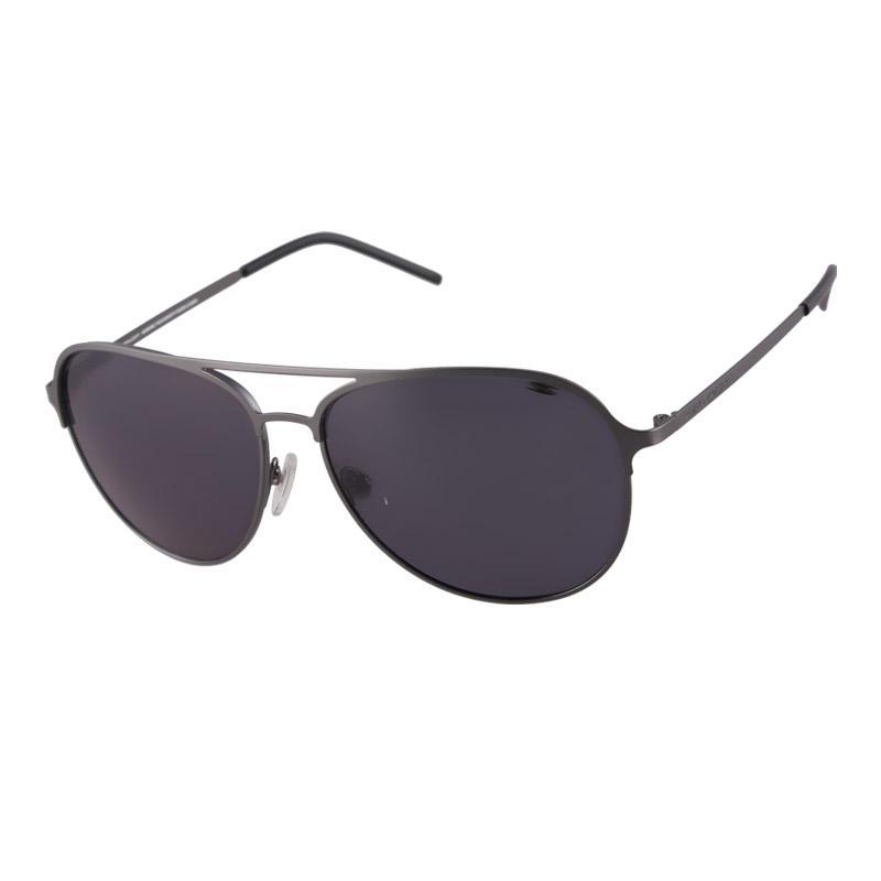 7d69de01dd Spyder Polarized Eyewear Sage 4S010 PZM (Matt Gun Grey Frame Silver Mirror  Lens)