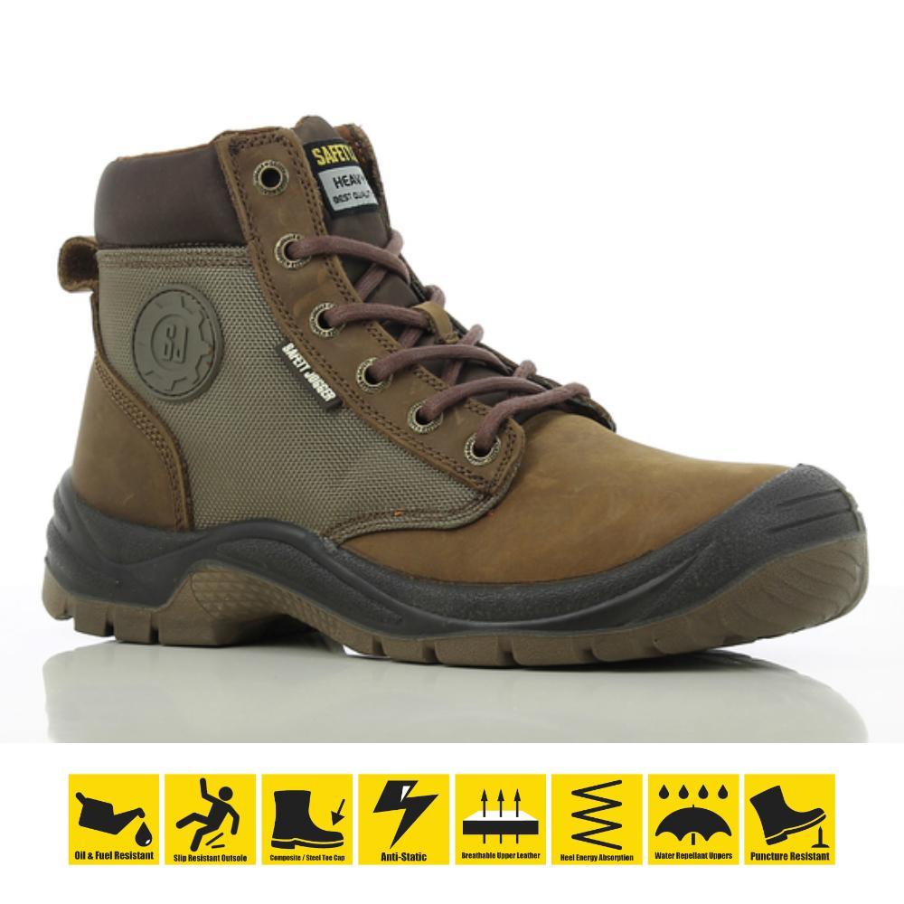 c9b8492eb23 Safety Jogger Dakar S3 High CutSafety Shoes Work Boot Steel Toe