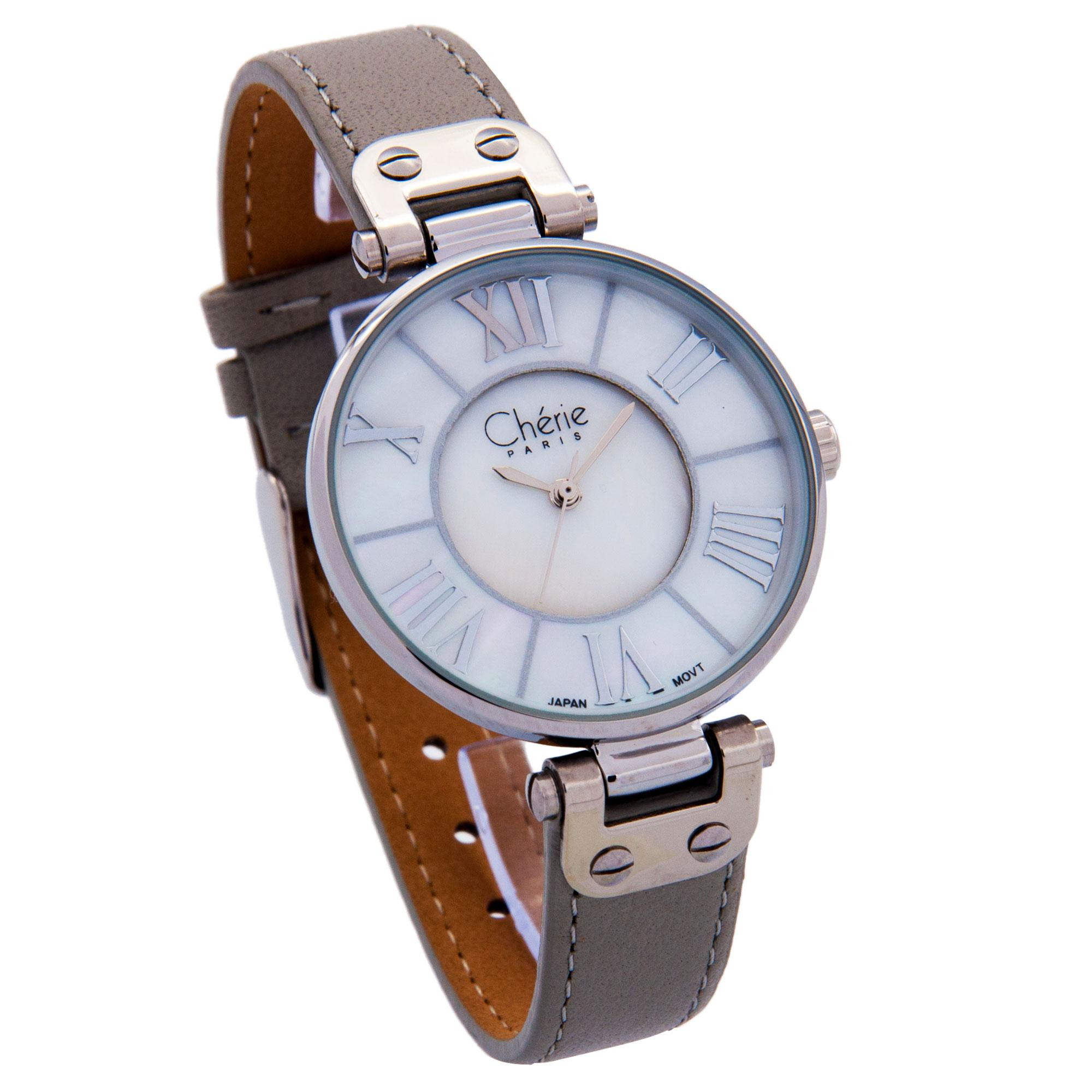 Cherie Paris Lisa Women Leather Strap Analog Watch CHR-1741 (Fashion Collection)