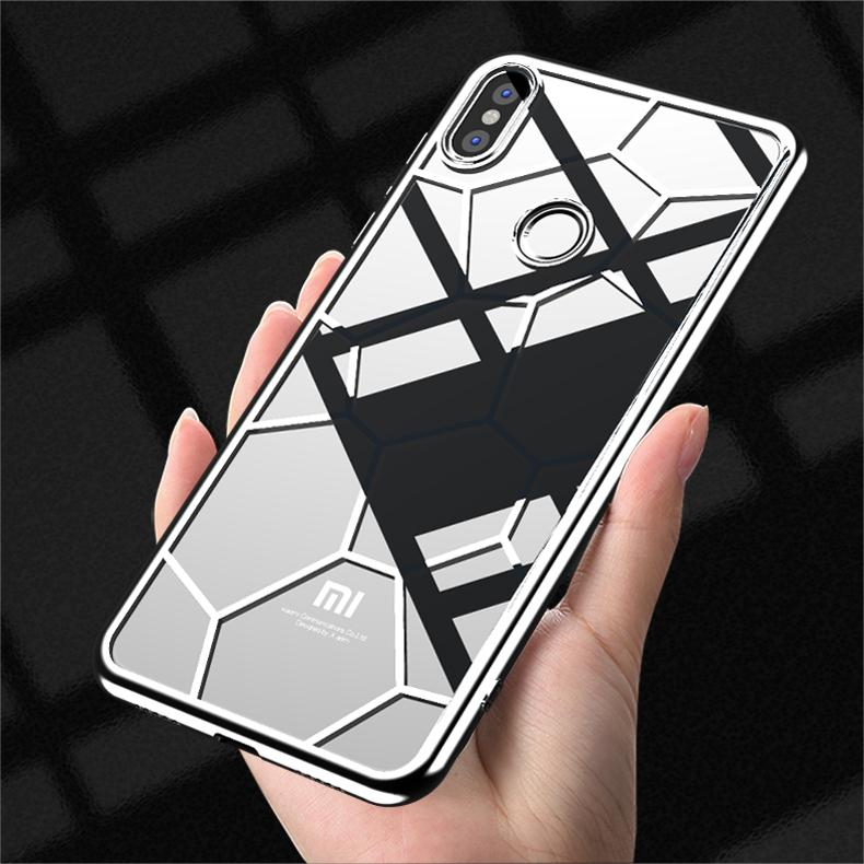 Wei Shield Xiaomi 8 Casing HP Edisi Remaja Xiaomi 8se Chasing luar delapan kepribadian kreatif Trendi ins transparan Silikon Bungkus Penuh anti jatuh sangat tipis