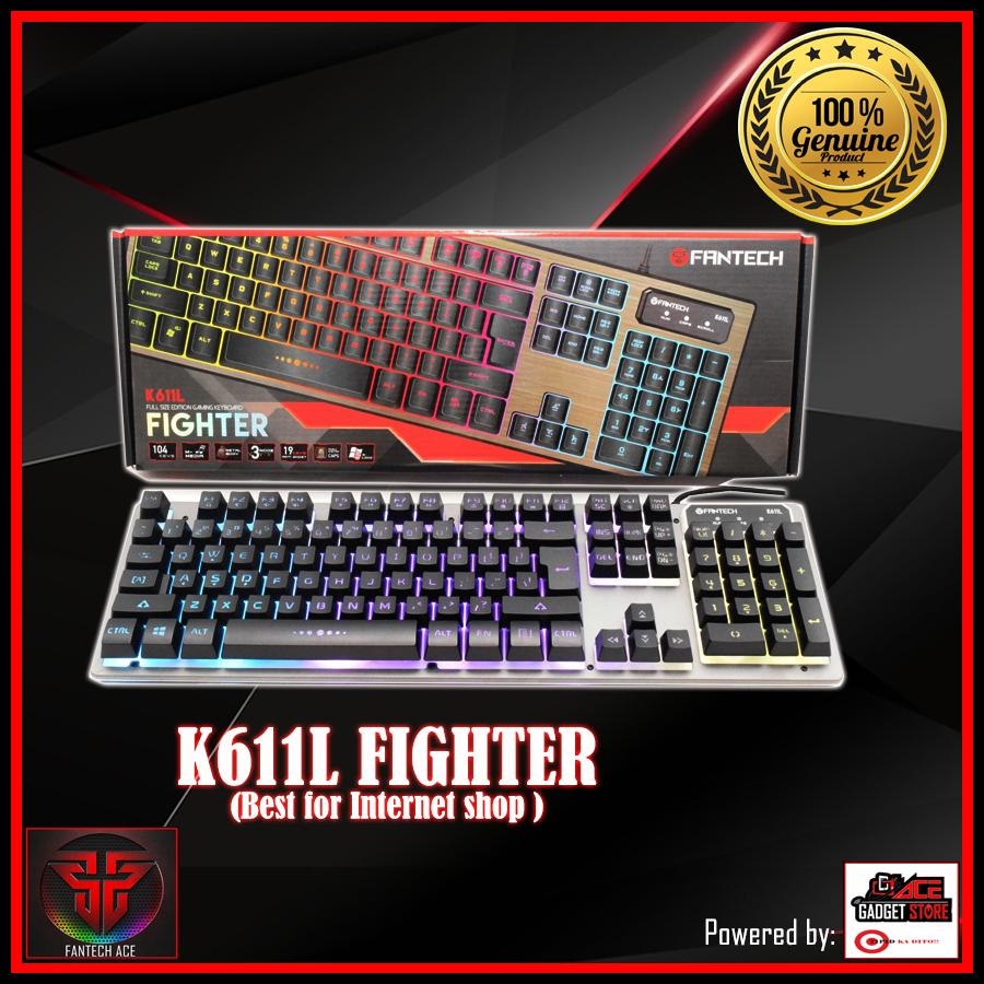27282ff515d FANTECH k611L FIGHTER PRO GAMING KEYBOARD Computer shop edition Philippines