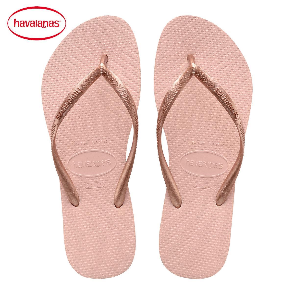 0570f022b63014 ... Havaianas Brazil 2018 New Products Flip-flops Women s Thin Drawstring  Slim Multi-color ...