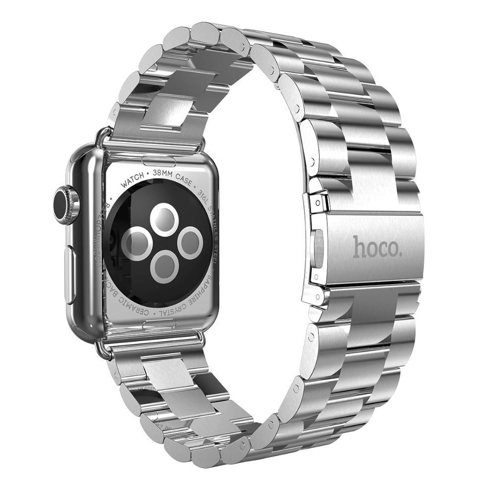 HOCO Stainless Steel Logam Tali untuk IWatch Jam Tangan Apple 42 Mm Matte .
