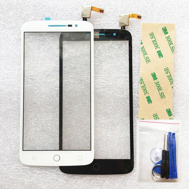 For Alcatel One Touch Pop 2 OT7044 Touch Screen Digitizer + tools