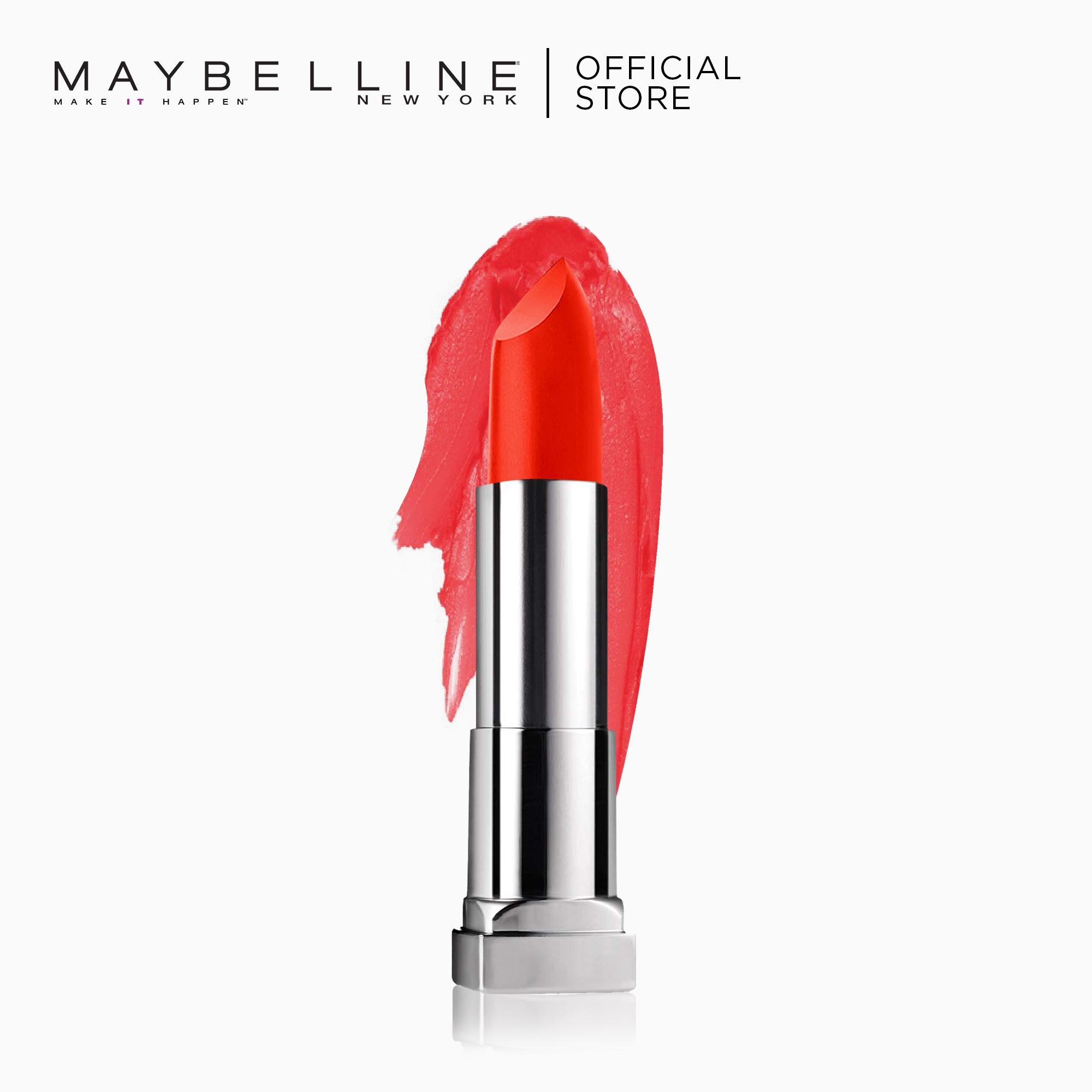 Creamy Matte Lipstick – 685 Craving Coral [New Yorks #1] by Maybelline Color Sensational Philippines