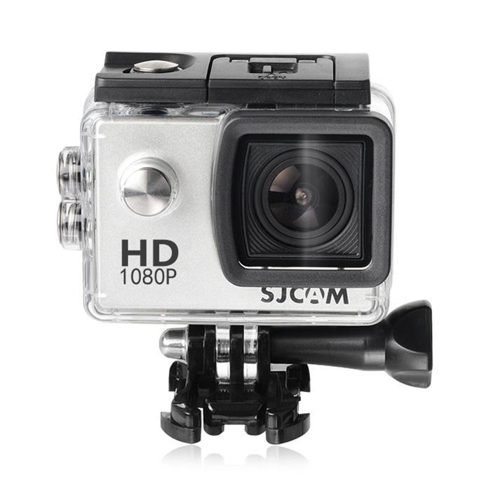 SJCAM SJ4000 Hành Động Thể Thao Camera 1080 P 170 Độ Ống Kính Góc Rộng 12MP Cảm Biến Bạc