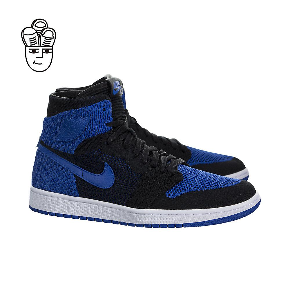 486e0ae5de81b5 The Air Jordan 1 Retro High Flyknit is created with a breathable and  flexible Flyknit upper