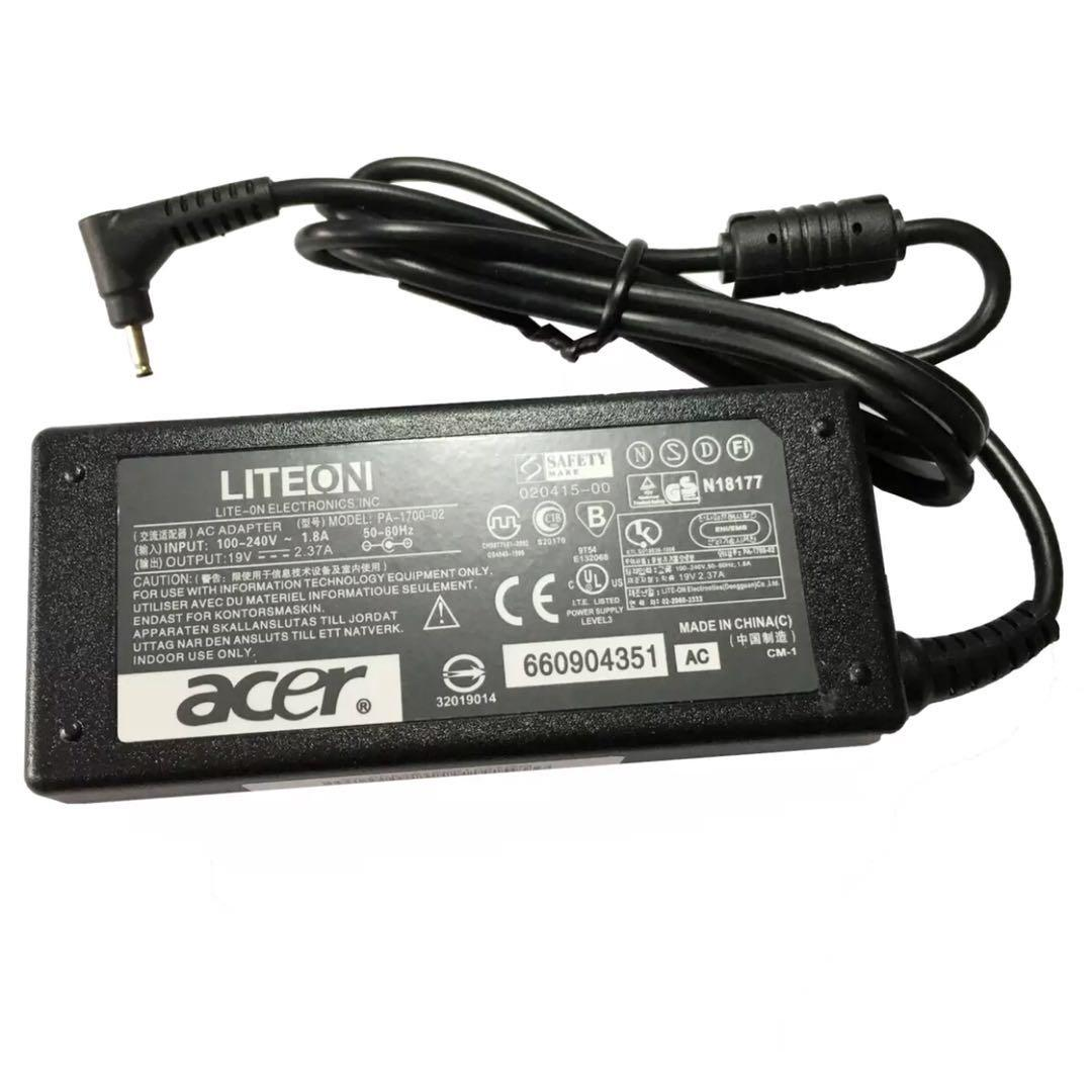 Buy Sell Cheapest Acer Aspire S3 Best Quality Product Deals Baterai Original One 725 756 Ao725 Ao756 Charger Adapter For 19v 237a Small Pin S5 S7