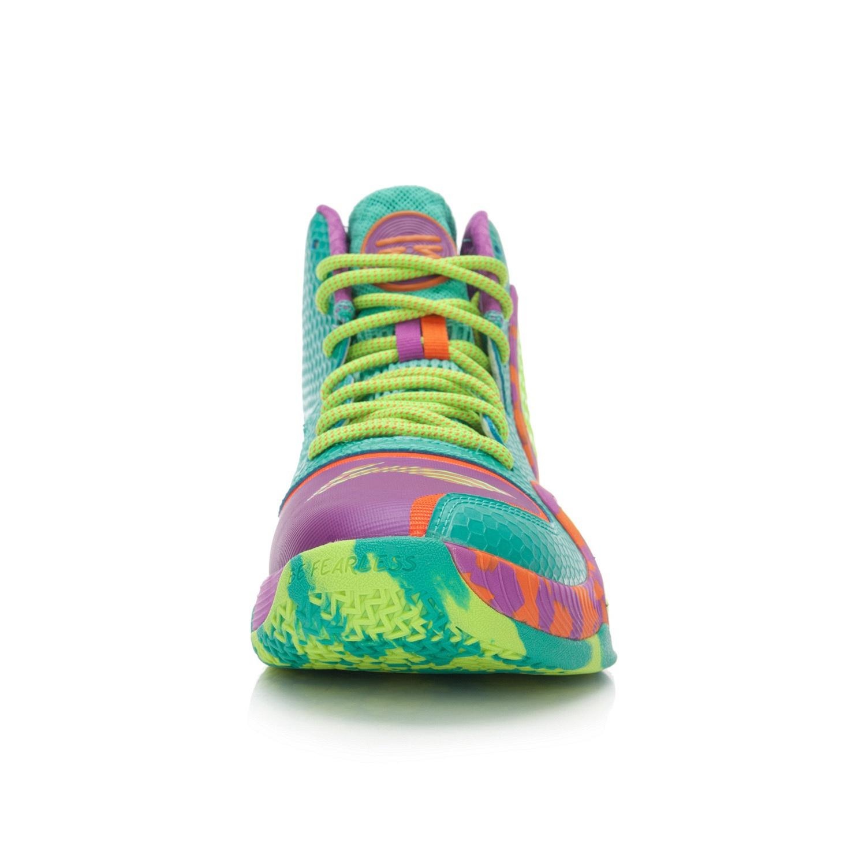 Fitur Lining Non Slip Peredam Guncangan Profesional Pertandingan Bola Basket Linning Sepatu Batu Giok Hijau