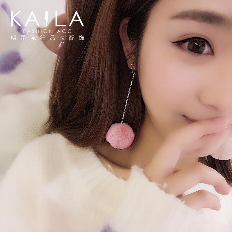 Jepang dan Korea Selatan wanita style anting anting-anting. Source · Kaila S925 Wanita Manis Perak Elegan Anting-Anting Anting