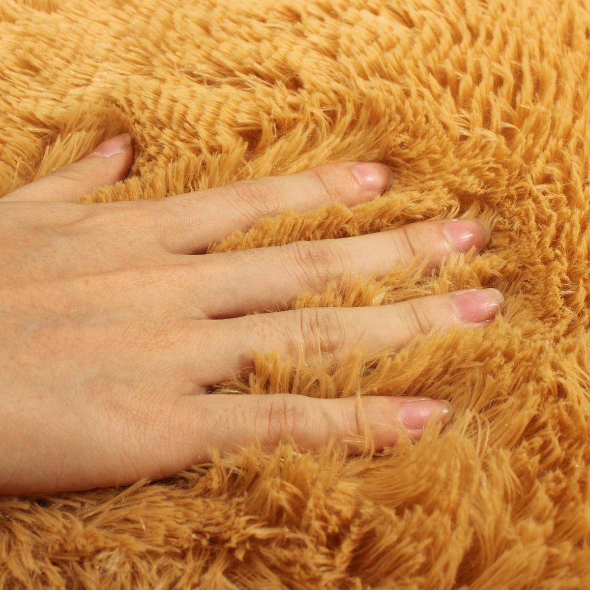 Shaggy Anti-skid Carpets Rugs Floor Mat/Cover 80*120cm