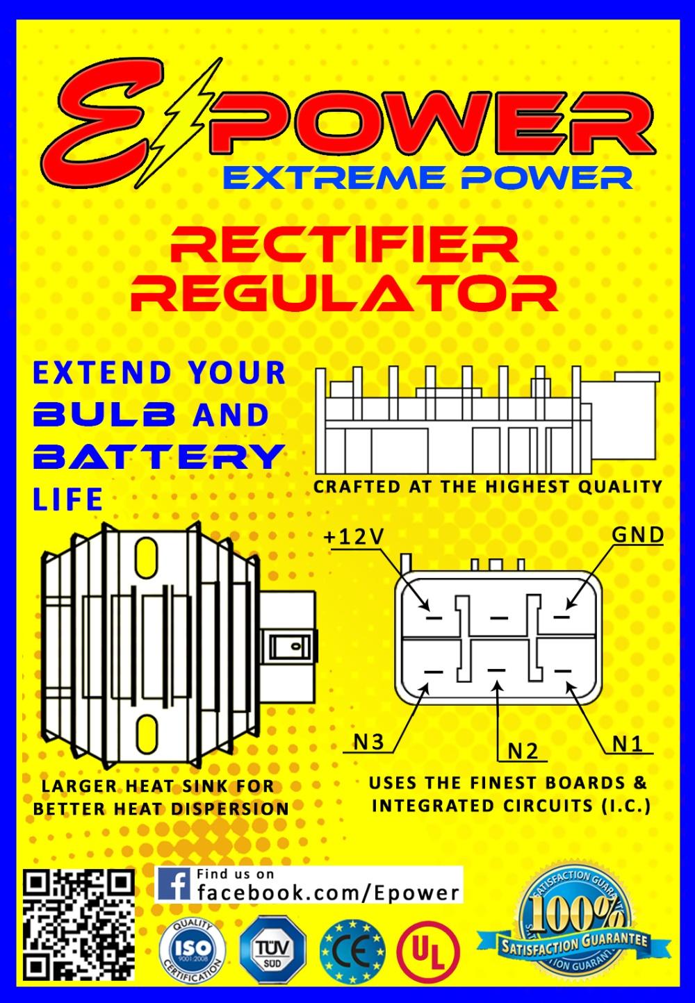RAIDER 150 / BARAKO C D I  Unit E-Power