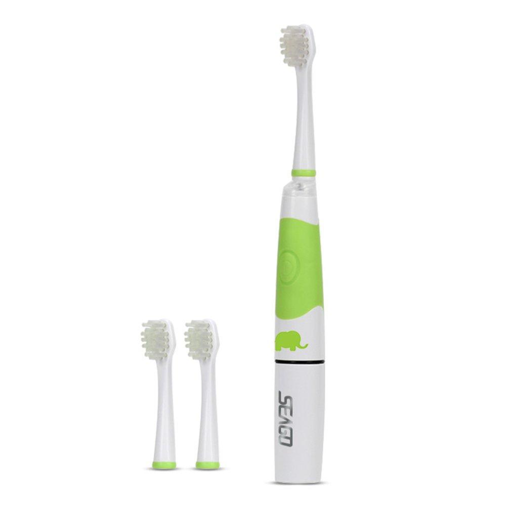 ประจวบคีรีขันธ์ Allwin Seago SG 618 แปรงสีฟันไฟฟ้าสำหรับเด็กไฟ LED แปรงสีฟันดูแลสุขภาพช่องปาก