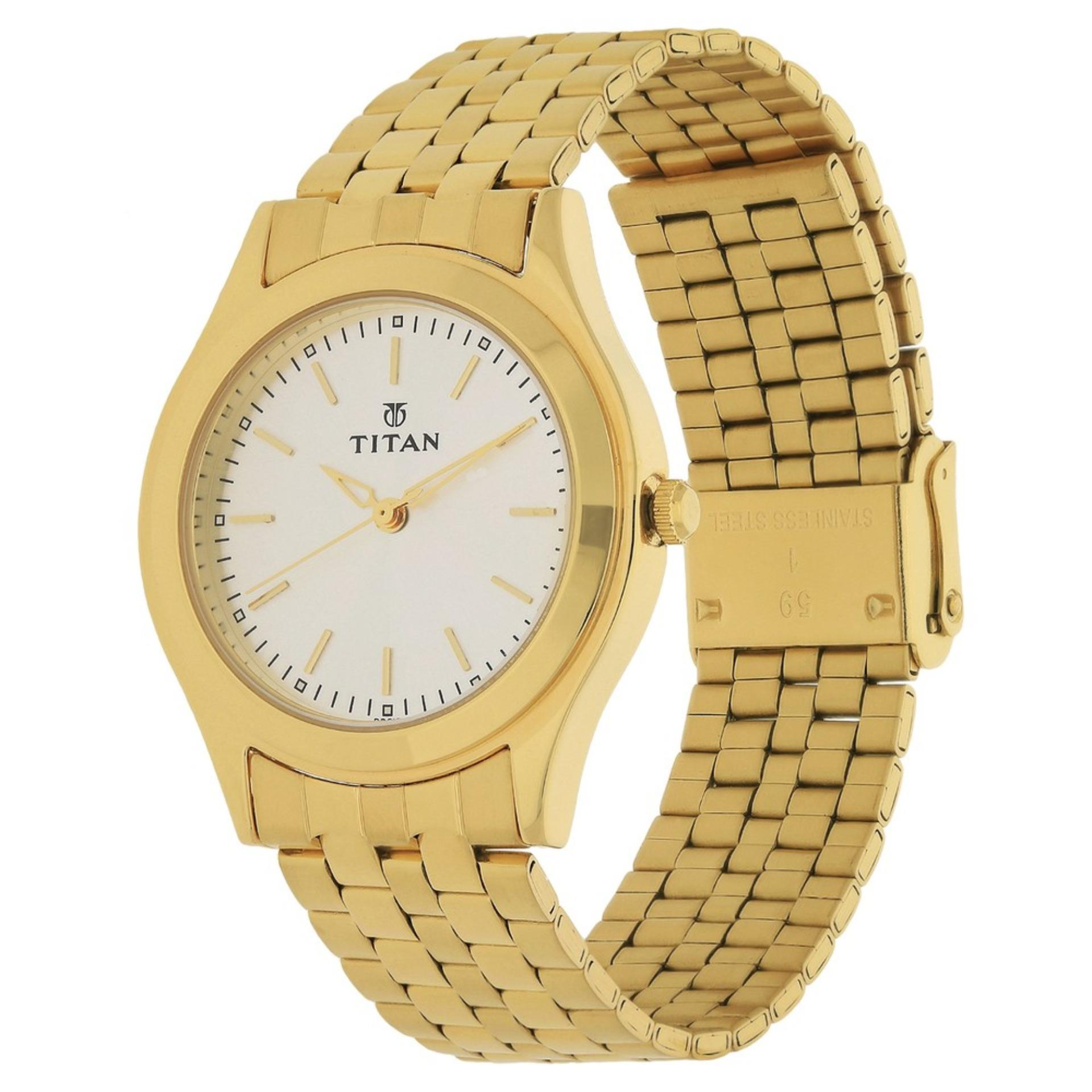 Titan Stainless steel Quartz watch for Men TTN1648YM01