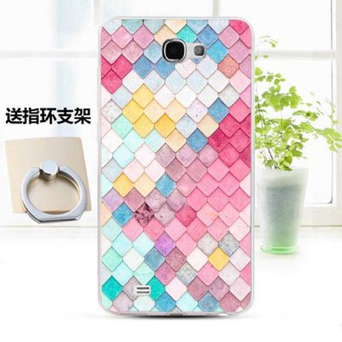 Phone Case For Samsung Galaxy Note 2 TPU Soft Cartoon Case (Multicolor)