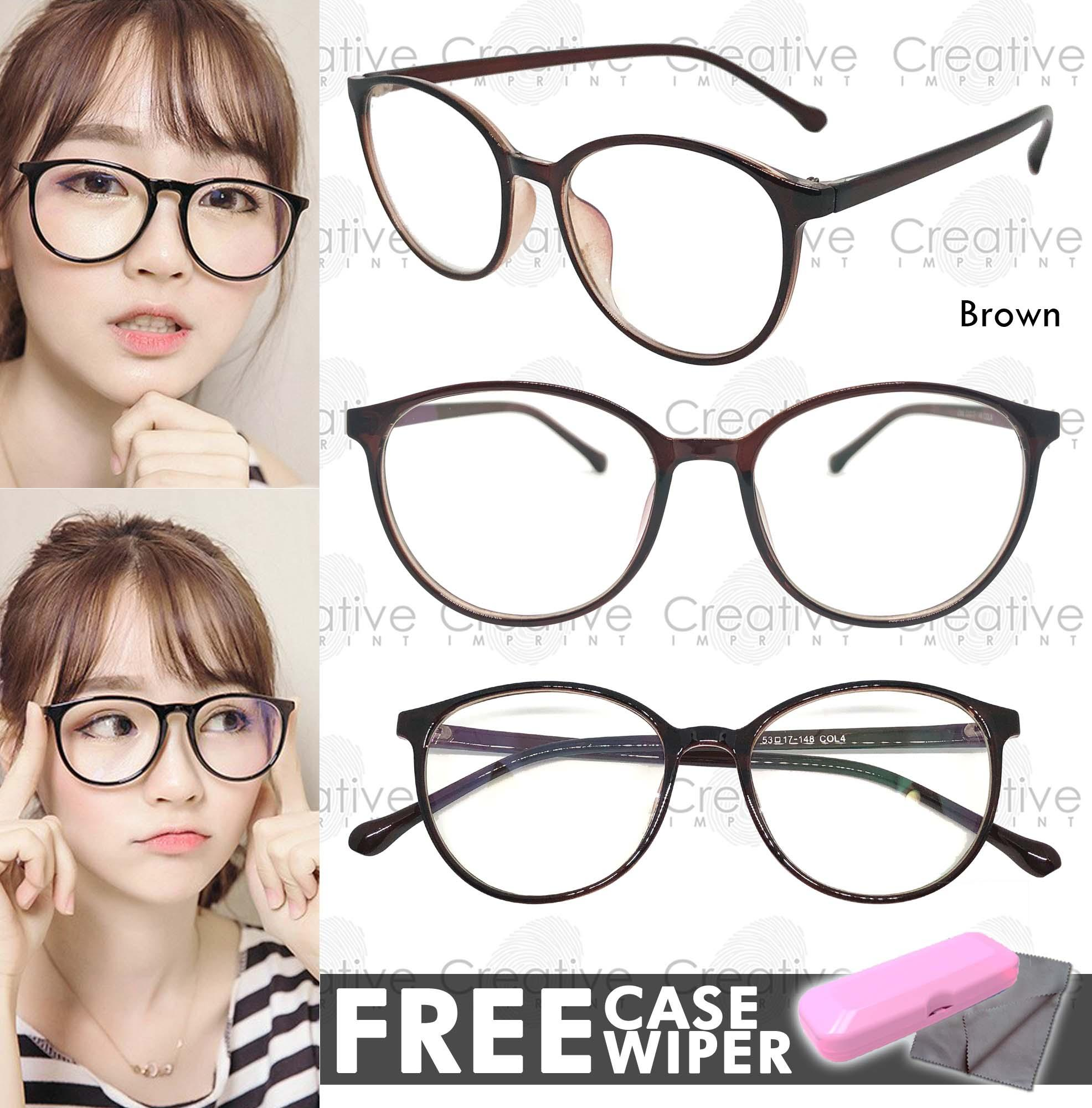 674568d155 Creative Imprint Eyeglasses Anti-Radiation Lens ( 05 Brown) Anti-Fatigue  Anti