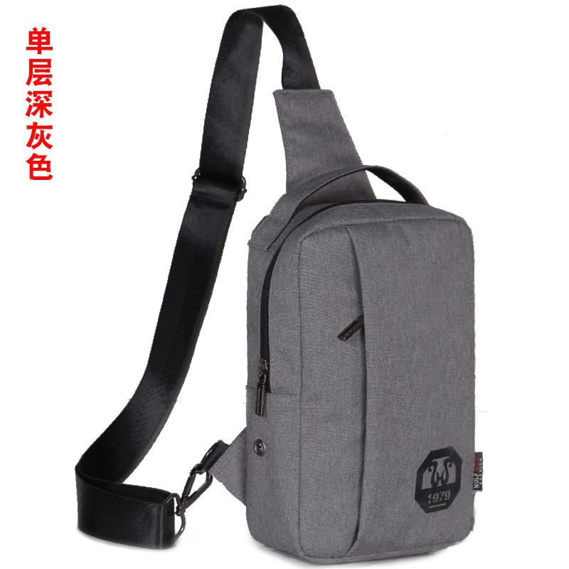 New style mens chest pack casual messenger bag sports small bag backpack  female pockets shoulder bag 7d42bae83847e