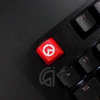 การตรวจสอบของ Keycaps Backlit พร้อม Overwatch รูปแบบ ESC/ใส่ Keycap Cherry MX ตัวครอบปุ่มคีย์บอร์ดสำหรับ MX Switches คีย์บอร์ดเล่นเกม discount