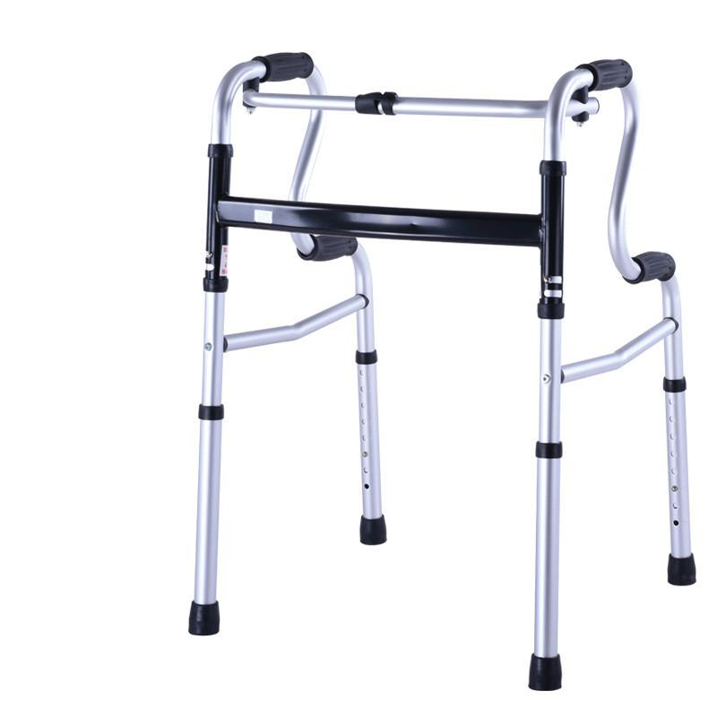 Safety Protection the Aged Old People Handicapped Disabled Person Rehabilitation Adjustable Walker Aid Frame for Sick Patient