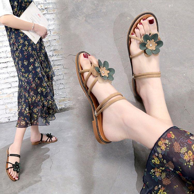 Gambar Sandal Korea Fashion Style Perempuan Baru Sepatu A Selengkapnya