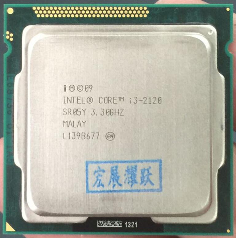 Intel Core I3-2120 I3 2120 Processor (Cache 3.30 GHz) LGA1155 Cpu Desktop-Intl