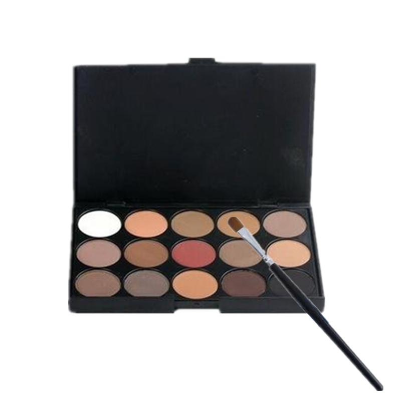 15 Colors Eyeshadow Palette WITH FREE Eyeshadow Brush Philippines