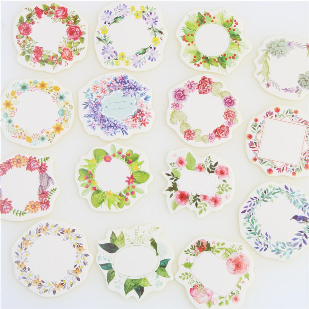 Mua 45 Pcs/lot Mini Wreath Paper Sticker Decoration DIY Ablum Diary Scrapbooking Label Sticker Kawaii Stationery - intl
