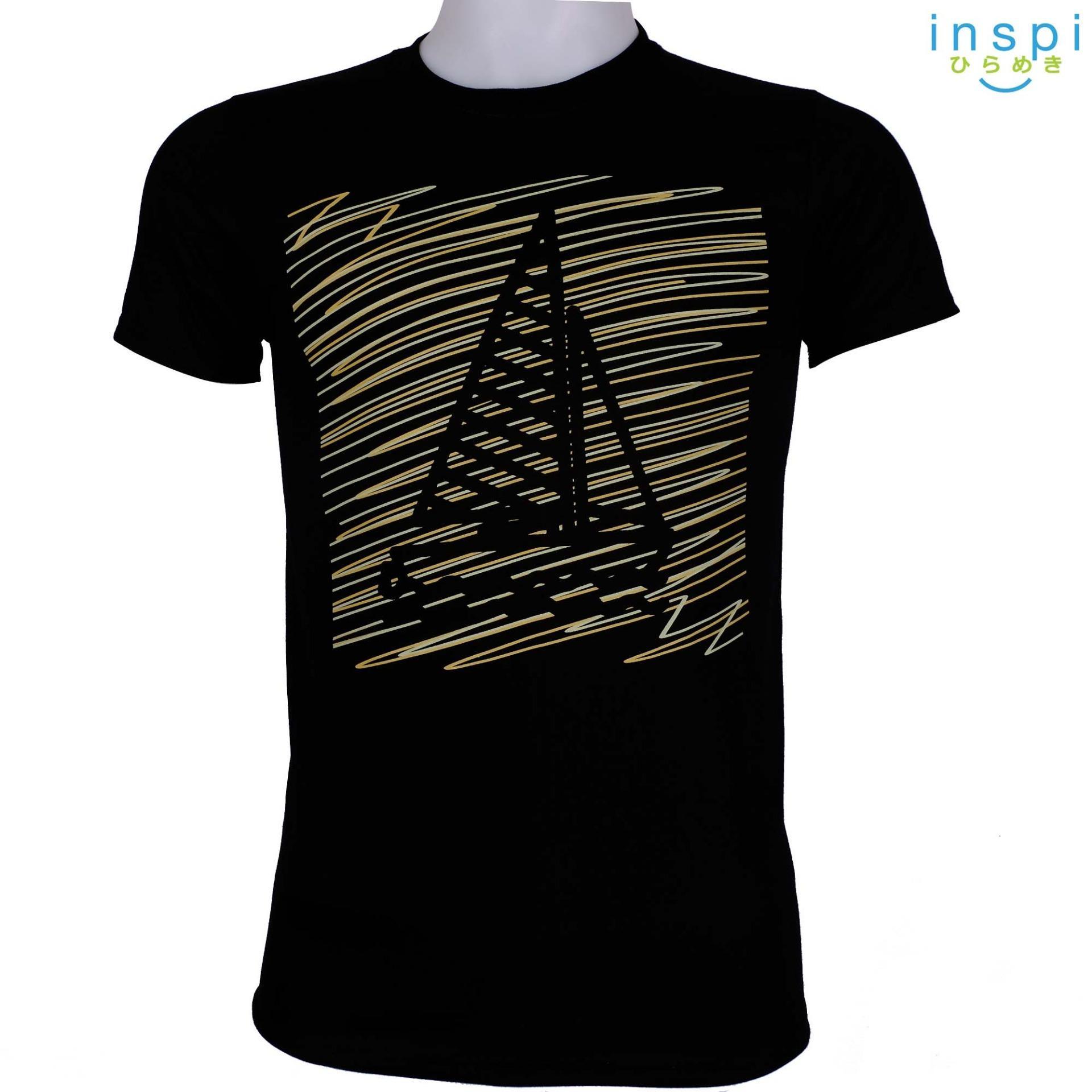 INSPI Tees Doodle Boat (Black) tshirt printed graphic tee Mens t shirt  shirts men