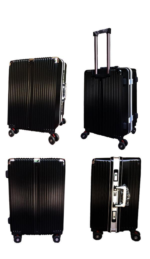 e54e82e01e PHP 2.999  L002 Travel business Aluminum Design Frame With TSA Lock Double Universal  Wheel Rolling Suitcases Luggage Cover Vintage Suitcase Hard Case ...