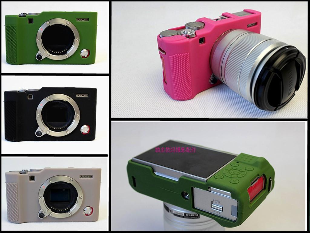 Optimal Sarung Silikon Kamera Fujifilm XA3/XA10