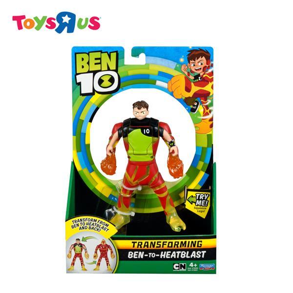 Ben 10 Deluxe Transforming Figure To Heatblast