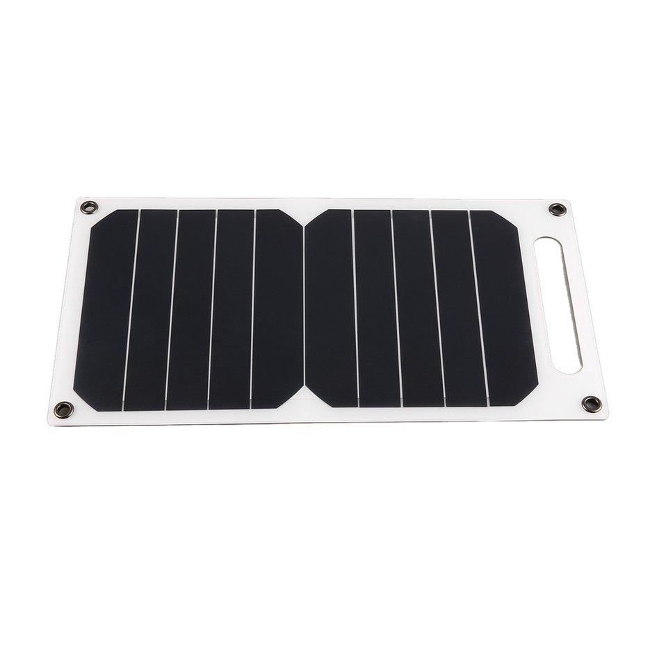 Hot Sellers 5V 5W Portable Solar Charging Panel Solar Power USB Charger for Outdoor