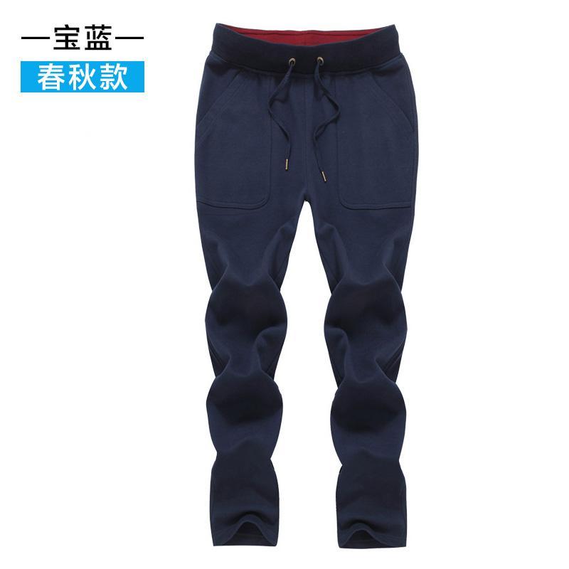 Bintang Kuno Celana Olah Raga Musim Semi atau Musim Gugur Baru Celana Olahraga Kasual Katun Warna
